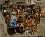 100年前美国人笔下的江户时代 惊艳的东京掠影